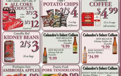 Some awesome weekly deals this week @ Calandro's (for 1/14/2016)…