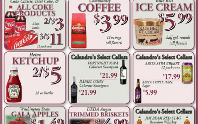 Some awesome weekly deals this week @ Calandro's (for 2/4/2016)…
