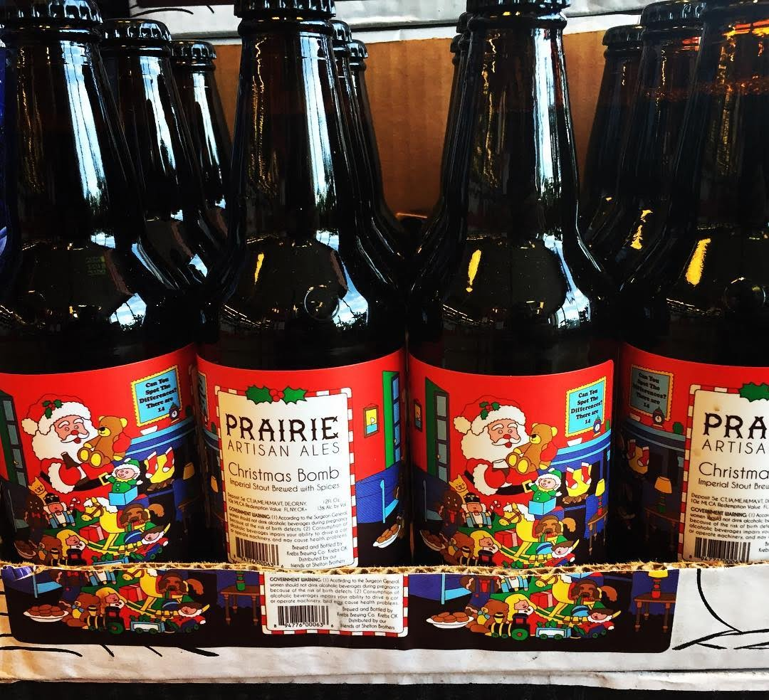 @prairieales Christmas Bomb 2017 is now in stock at our Perkins Rd location along with…