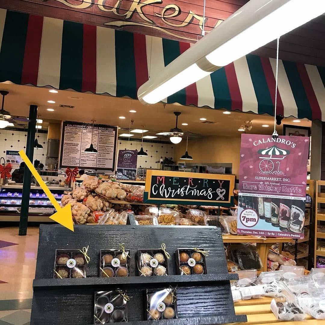 Repost from @delicia_brigadeiro: • You can find Delícia Brigadeiro on the bakery racks at @calandrosmkt…