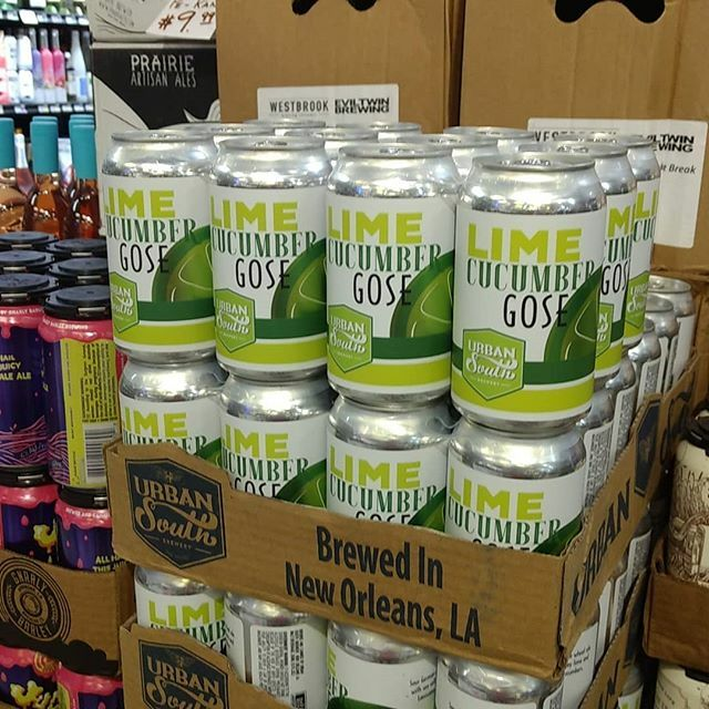 @urbansouthbeer Lime Cucumber Gose is BACK @ Calandro's Perkins and available for #July4th #poolside if…