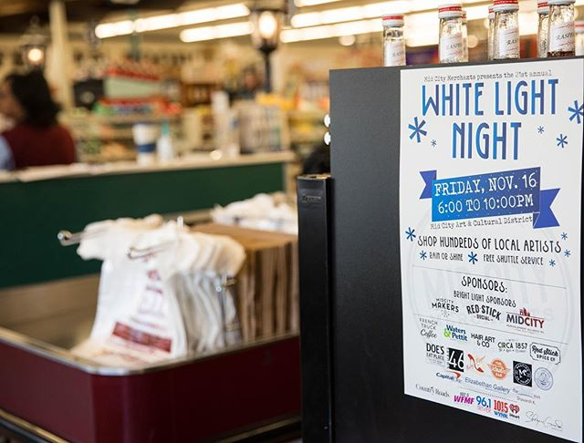 Were excited to once again be a part of #whitelightnight at our midcity location of…
