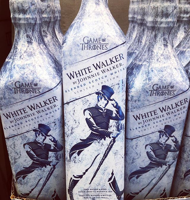 @johnniewalker White Walker is now available at our #midcitybr location and will be available tomorrow…