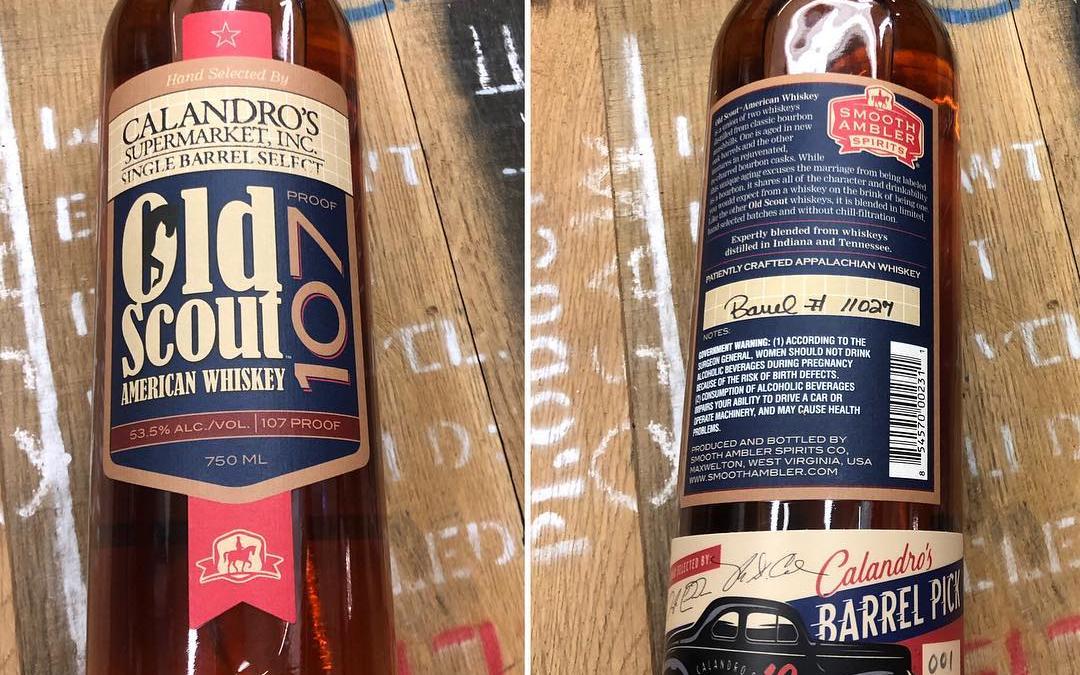 🚨🚨🚨🚨🚨NEW BARREL PICK ALERT🚨 🚨🚨🚨🚨Our @smoothambler Old Scout Barrel pick with custom labels from @designedforbeer…