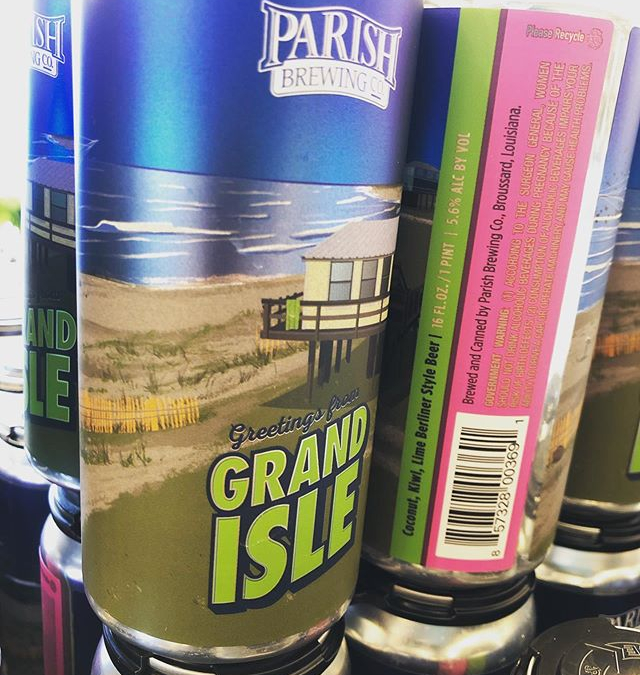 🥥 🥥🥥🥥 🥥🥥🥝🥝🥝🥝 🥝🥝 @parishbrewingco Greetings from Grand Isle, a Berliner loaded with Coconut, Kiwi…