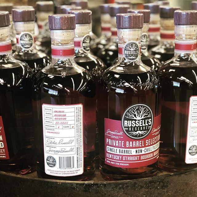 We finally have a new barrel! Our latest pick of @russellsreservebourbon is an 8.5 year…