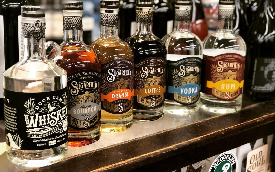 We now have the full line of @sugarfield_spirits products in stock at our Perkins Rd