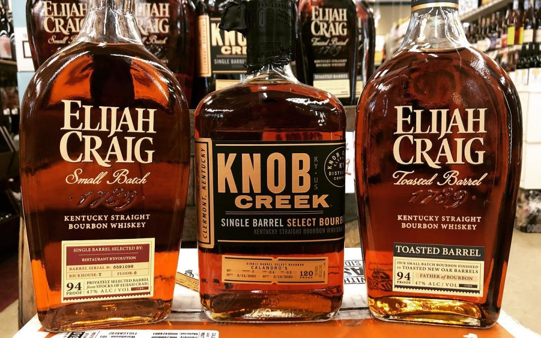 JUST IN!!! Two fresh single barrels, first is a 15 year @knobcreek picked by us