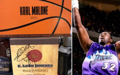 Did you know Karl Malone has a cigar and rum line? If you didn't, now