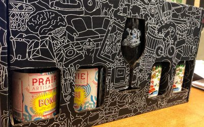 We just received these awesome @prairieales gift sets at our Perkins Rd location! Set includes