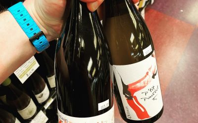New wines from @octavin.alice.bouvot available at Perkins! P'tit Poussot (Chardonnay from Arbois) and Elle Aime