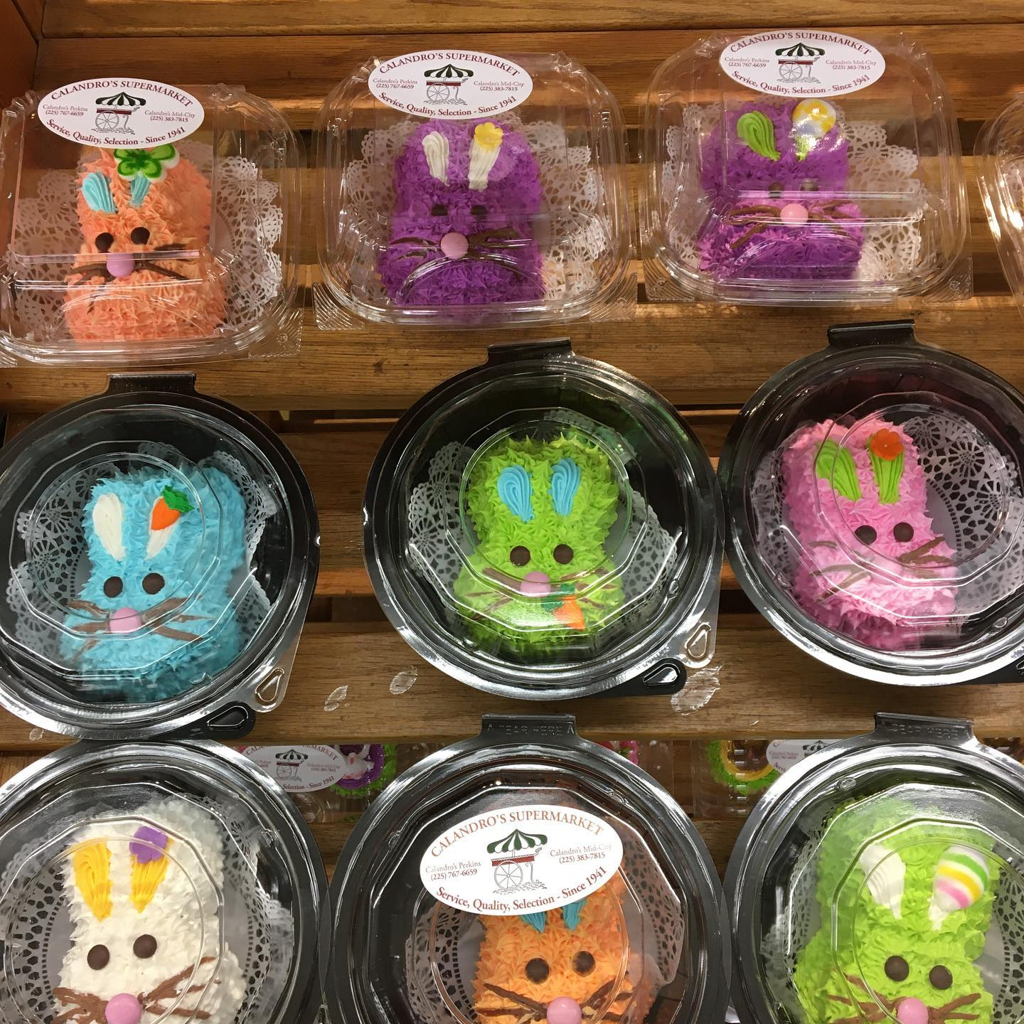 Hop on over to Calandro's Mid-City – the Easter Bunny dropped off some handcrafted, homemade,