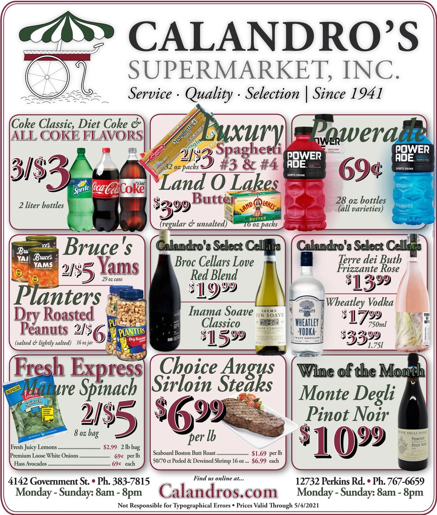 Calandro's Wonderful Deals and Finds for This Week! (4/29/2021 – 5/4/2021) http://dlvr.it/RymnbZ…