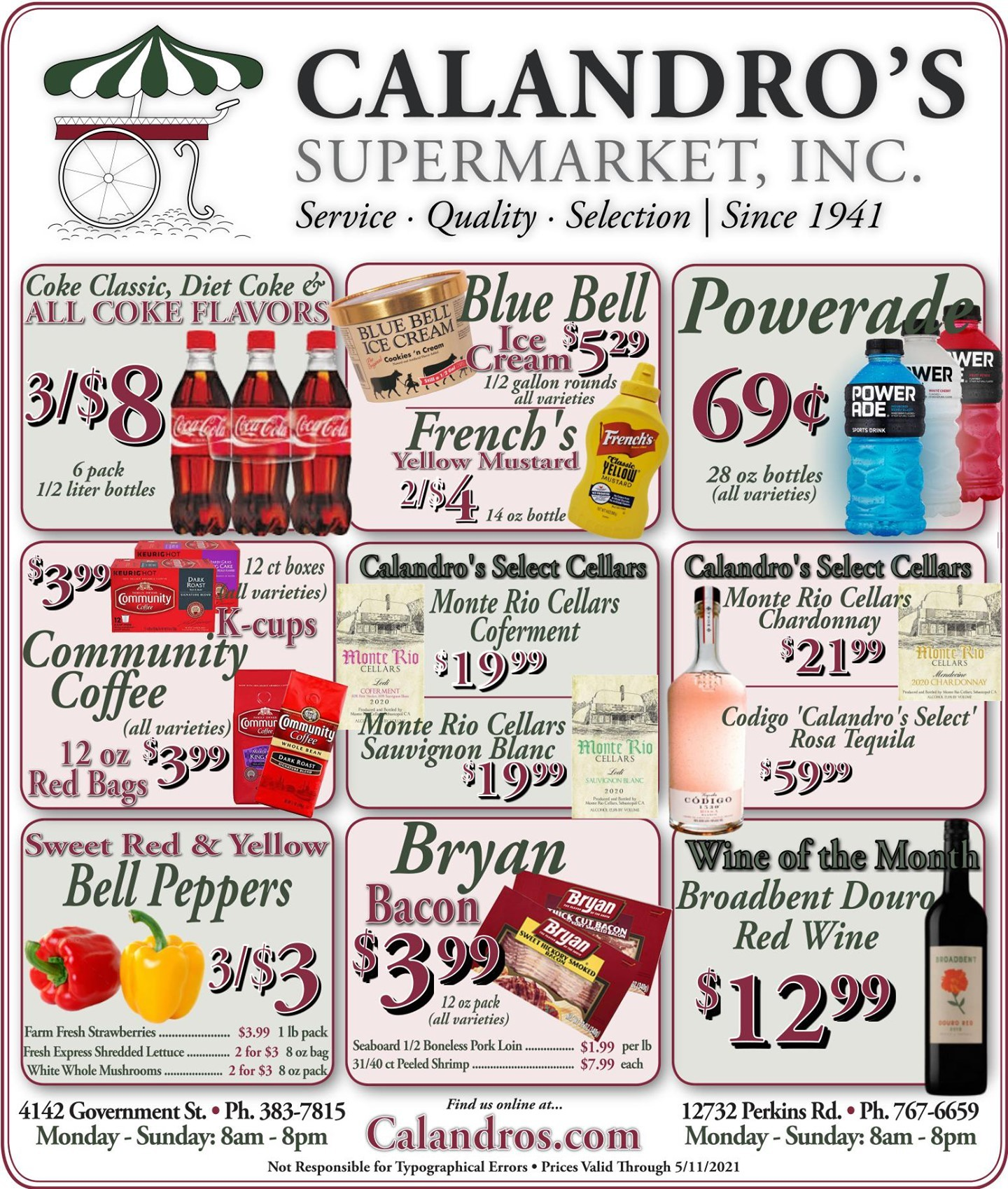 Calandro's Awesome Deals and Sales for This Week! (5/6/2021 – 5/11/2021) http://dlvr.it/Rz8PR0…