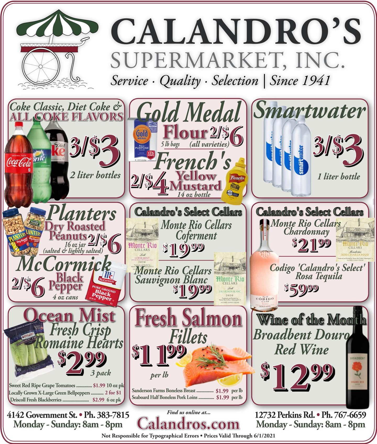 Calandro's Amazing Deals and Specials for This Week! (6/3/2021 – 6/8/2021) http://dlvr.it/S0yhRJ…