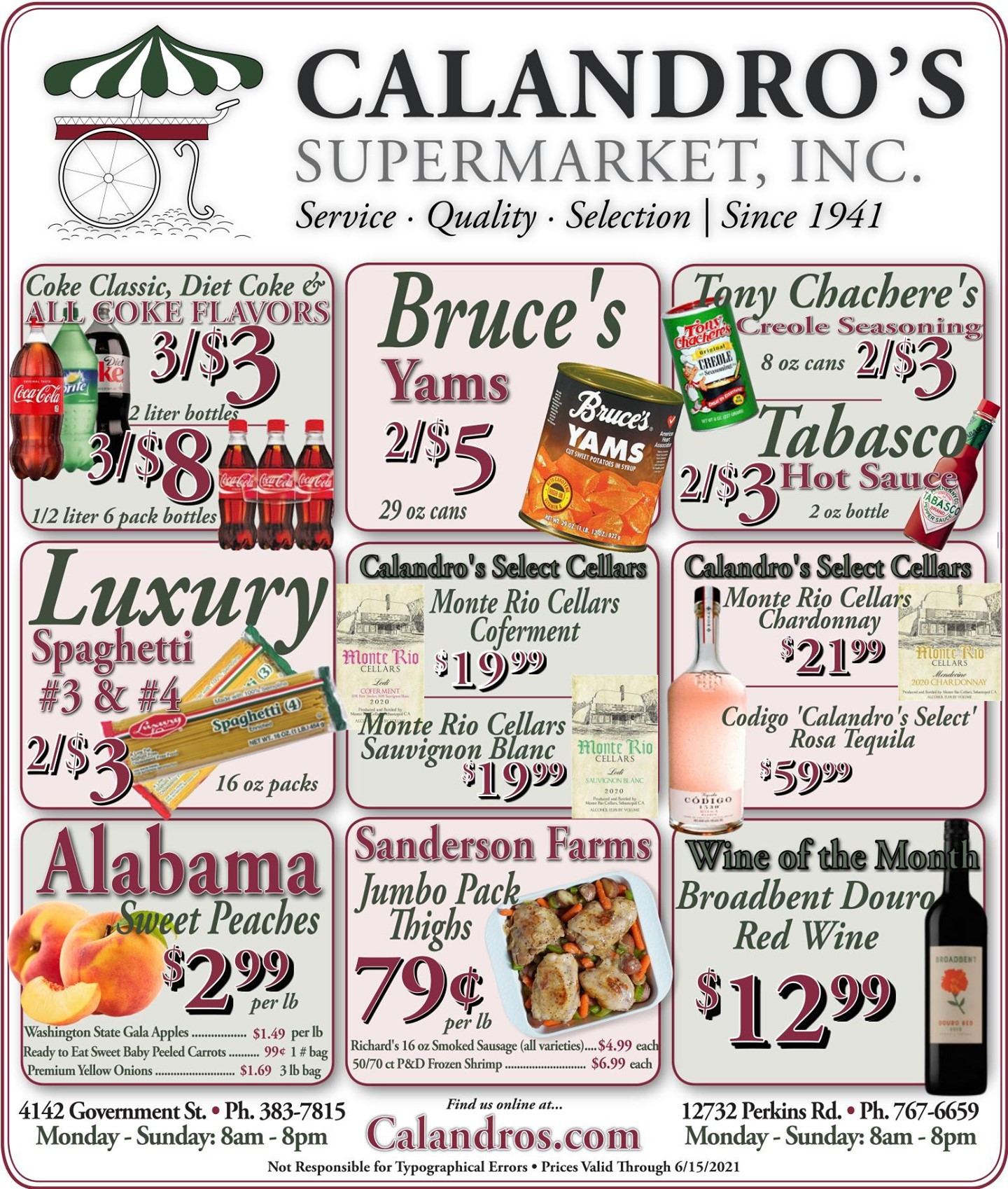 Calandro's Fabulous Finds and Deals for This Week! (6/10/2021 – 6/15/2021) http://dlvr.it/S1Qmmv…