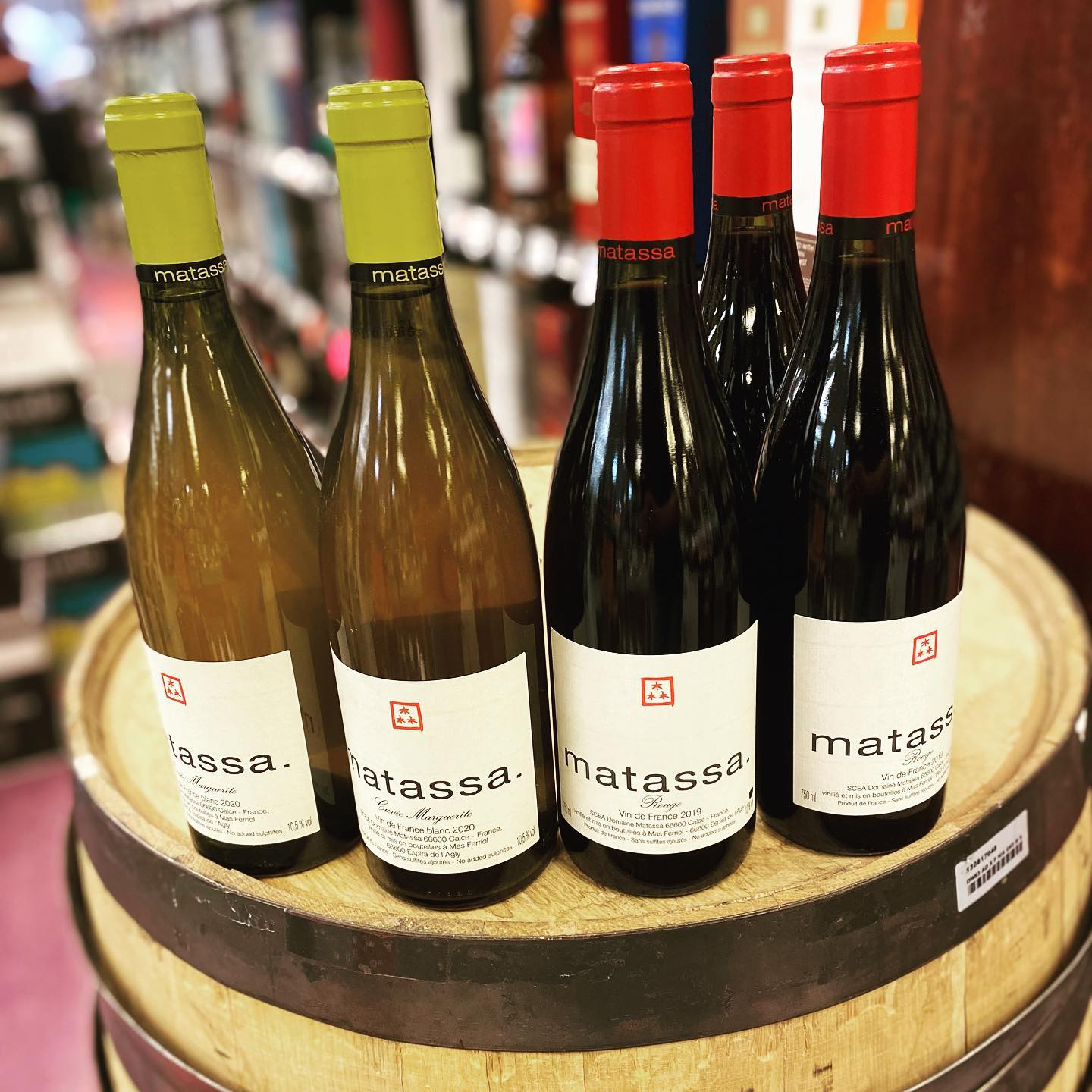 A few bottles of #domainematassa left at Perkins. Grab some before they're gone! @louisdressnerselections .