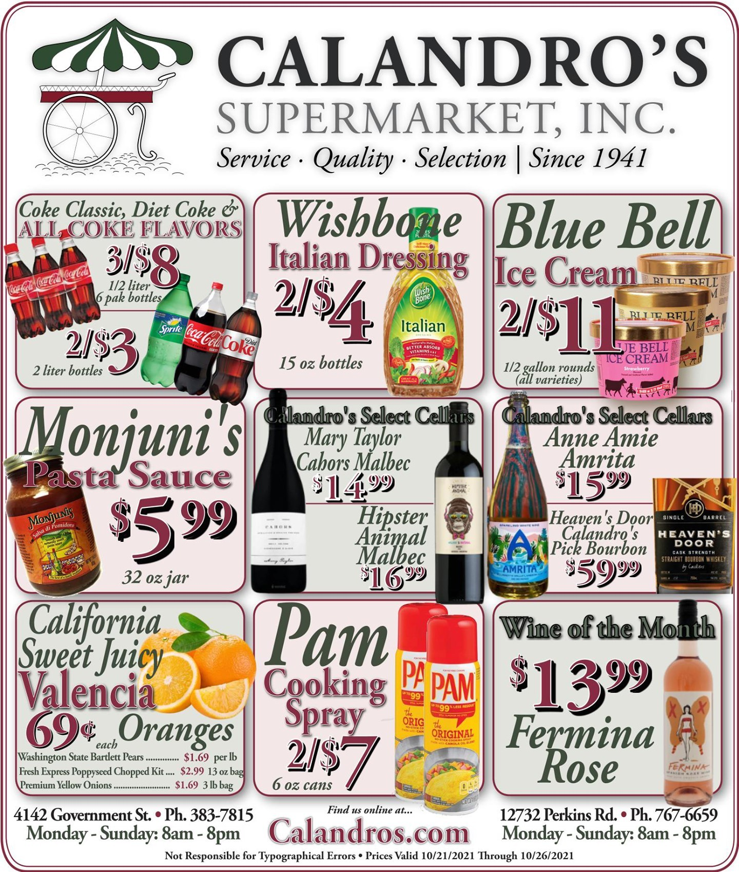 Calandro's Remarkable Deals and Finds for This Week! (10/21/2021 – 10/26/2021) http://dlvr.it/SB0HL9…